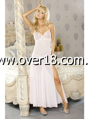 PURE Embroidered Gown  G-String