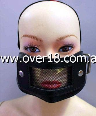 RoomFun Muzzle Set Mask  Mouth Gag