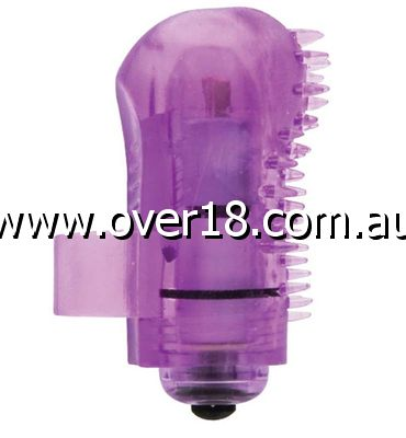 Sensual Finger Massager Purple