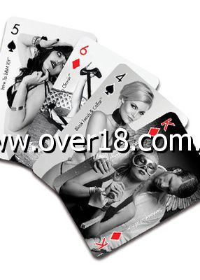 Sex  Mischief Playing Cards