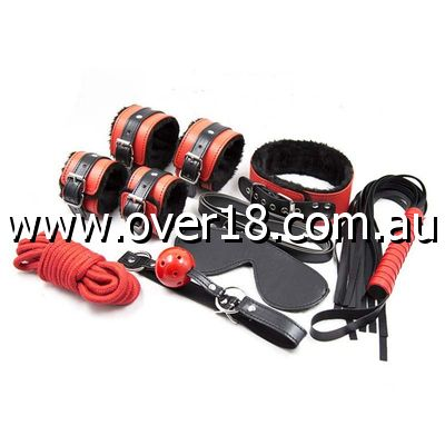 Sexy Red Bondage Kit