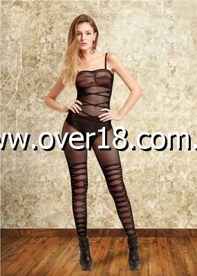 Sienna  Black Sleeveless Body Stocking