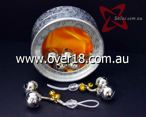 Small Clear Crystal Nipple toys With Bells
