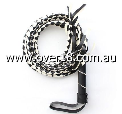 Snakeskin Whip Faux Leather