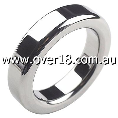 Steel Donut Cock Ring 10mm Thickness