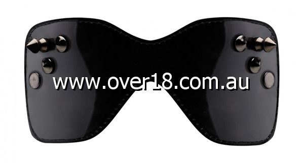 Bad Romance Stitching Eyemask with Metal Nails