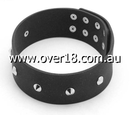 Studded Silicone Collar