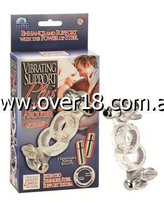 Support Plus Vibrating 4 Way Penis Arouser