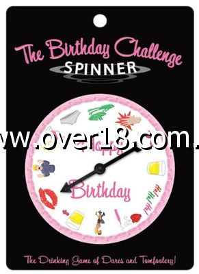 The Birthday Challenge Spinner