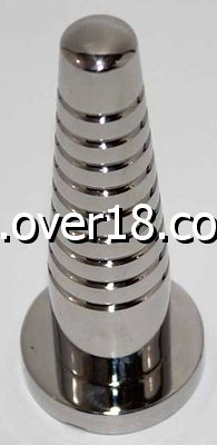 The Screw Tiered Metal Butt Plug