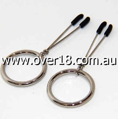 Tweezer Nipple Clamp with Metal O-Ring
