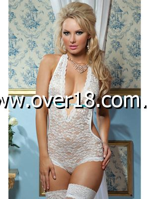 Uptown Lace teddy