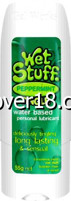 Wet Stuff Peppermint Lubricant