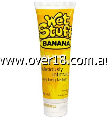 Wet Stuff Banana Lubricant