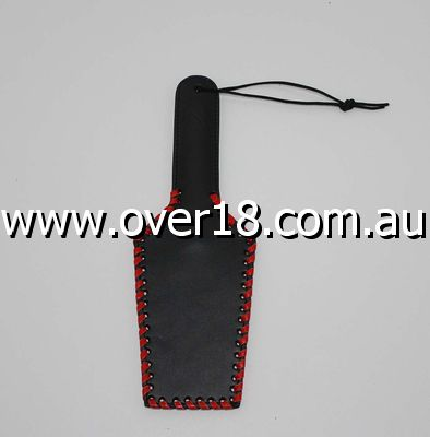Whip it baby Rectangular 32cm Leather Paddle