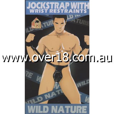 Wild Nature Jock Strap with Wrist Restraints